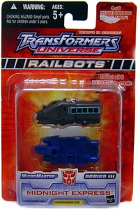 Transformers Universe Micromasters Series 3 Railbots Figure Midnight Express