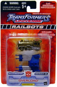 Transformers Universe Micromasters Series 3 Railbots Figure Overload