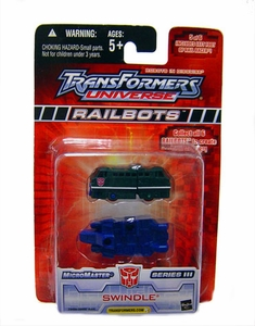 Transformers Universe Micromasters Series 3 Railbots Figure Swindle