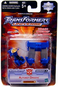 Transformers Universe Micromasters Series 1 Protectobots Figure Autobot Groove