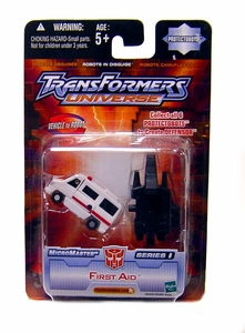 Transformers Universe Micromasters Series 1 Protectobots Figure First Aid