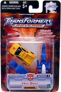 Transformers Universe Micromasters Series 1 Protectobots Figure Hot Spot