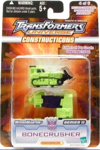 Transformers Universe Micromasters Series 2 Constructicons Bonecrusher
