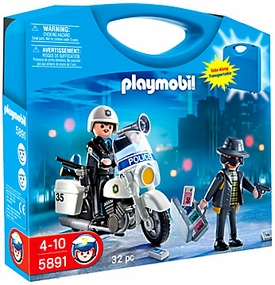 Playmobil Carry Case Playset #5891 Police