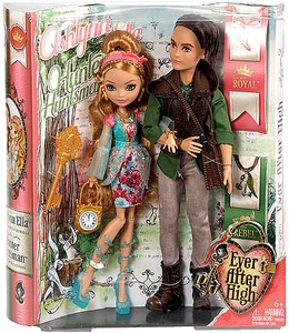 Ever After High Royal Doll 2-Pack Ashlynn Ella & Hunter Huntsman [Daughter of Cinderella & Son of The Huntsman]