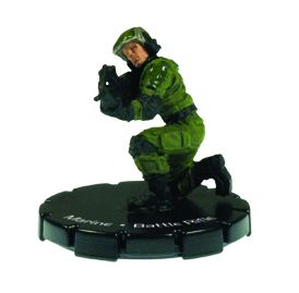 Halo 3 Wizkids CMG Miniature Game ActionClix Single Figure 089 Common Marine BR55 Battle Rifle