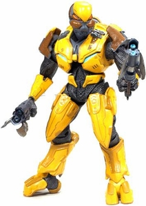 Halo 3 McFarlane Toys Series 6 [MEDAL EDITION] Exclusive Action Figure GOLD Elite Assault Impossible to Find!