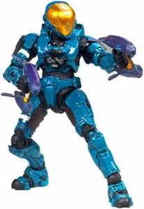 Halo 3 McFarlane Toys Series 6 [MEDAL EDITION] Exclusive Action Figure TEAL Spartan Soldier Eva