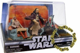 Star Wars Original Trilogy Action Figure Cinema Scenes Jedi High Council Shaak Ti, Agen Kolar & Stass Allie