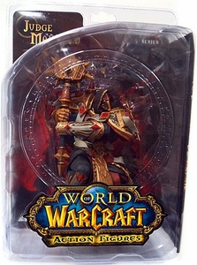 World of Warcraft DC Unlimited Series 7 Action Figure Judge Malthred [Human Paladin]