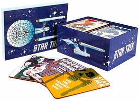 Bif Bang Pow! Star Trek The Original Series Exclusive Fine Art Coaster set