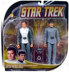 Diamond Select Star Trek Action Figure 2-Pack Kirk & Spock