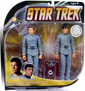 Diamond Select Star Trek Exclusive Action Figure 2-Pack Kirk & Spock