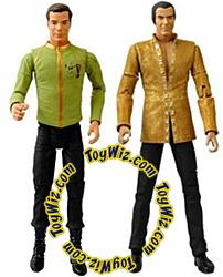 Diamond Select Toys Star Trek 40th Anniversary Action FIgure 2-Pack Space Seed with Kirk & Khan