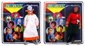 Diamond Select Star Trek Original Series Set of Both Series 4 Cloth Retro Action Figures Scotty & The Keeper