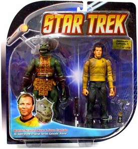 Diamond Select Toys Star Trek The Original Series Action Figure 2-Pack Captain Kirk & Gorn