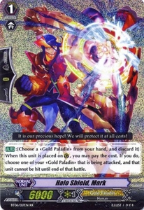 Cardfight Vanguard ENGLISH Breaker of Limits Single Card RR Rare BT06-017EN Halo Shield, Mark