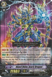 Cardfight Vanguard ENGLISH Breaker of Limits Single Card SP BT06-S08EN Beast Deity, Azure Dragon