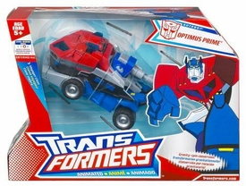 Transformers Animated Voyager Figure Optimus Prime [Earth Mode]
