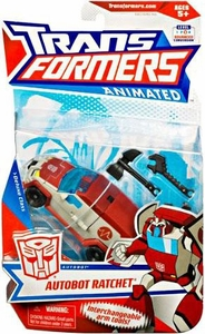 Transformers Animated Deluxe Figure Autobot Ratchet