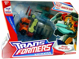 Transformers Animated Voyager Figure Wreck-Gar [Garbage Truck]