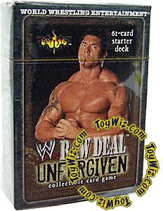 WWE Raw Deal Unforgiven Starter Deck Batista