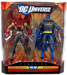 DC Universe Collector Classics Exclusive Knightfall Action Figure 2-Pack Azrael Batman & Batman