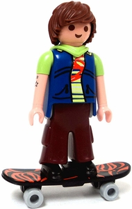 Playmobil Fi?ures Series 2 LOOSE Mini Figure Skateboarder