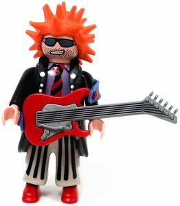 Playmobil Fi?ures Series 2 LOOSE Mini Figure Punk Rocker