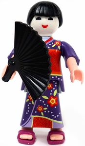 Playmobil Fi?ures Series 2 LOOSE Mini Figure Geisha