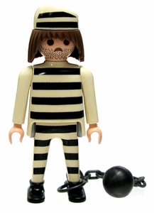 Playmobil Fi?ures Series 2 LOOSE Mini Figure Prisoner