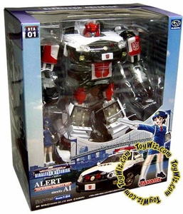 Transformers Takara Binaltech BTA-01 Red Alert White Subuaru WRX