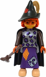 Playmobil Fi?ures Series 1 LOOSE Mini Figure Witch with Broom