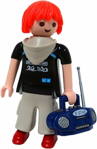 Playmobil Fi?ures Series 1 LOOSE Mini Figure Kid with Boombox