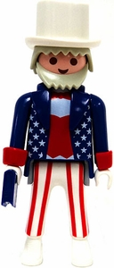 Playmobil Fi?ures Series 1 LOOSE Mini Figure Uncle Sam