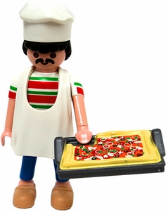 Playmobil Fi?ures Series 1 LOOSE Mini Figure Pizza Chef