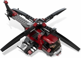LEGO LOOSE Vehicle Dark Red Assault Helicopter