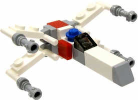 LEGO Star Wars LOOSE Micro Vehicle X-Wing Starfighter