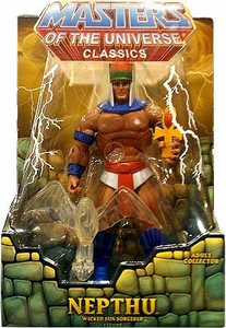 He-Man Masters of the Universe Classics Exclusive Action Figure Nepthu [Filmation Look]