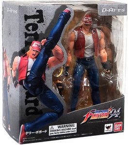King of Fighters D-Arts 5 Inch Action Figure Terry Bogard