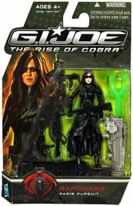 GI Joe Movie The Rise of Cobra 3 3/4 Inch Action Figure Baroness [Paris Pursuit]