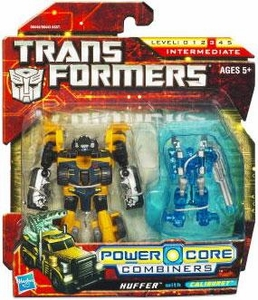 Transformers: Power Core Action Figure 2-Pack Huffer with Caliburst