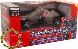 Transformers Hasbro Alternators Battle Ravage Chevrolet Corvette Rare!