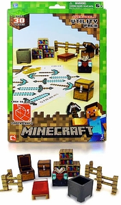 Minecraft Papercraft Utility Pack [30 Pieces]