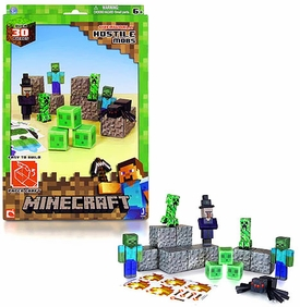 Minecraft Papercraft Hostile Mobs [30 Pieces]