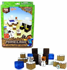 Minecraft Papercraft Snow Set [48 Pieces]