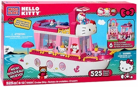 Hello Kitty Mega Bloks Set #10930 Cruise Ship