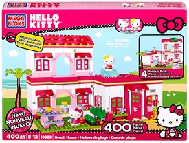 Hello Kitty Mega Bloks Set #10929 Beach House