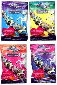 Bella Sara Horses Collectible Miniatures Series 4 Booster Packs [Lot of 24]