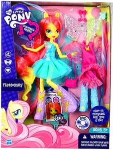 My Little Pony Equestria Girls 9 Inch Deluxe Doll Fluttershy with Accessories